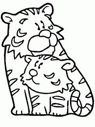 Tigres para colorear 22