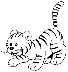 Tigres para colorear 28