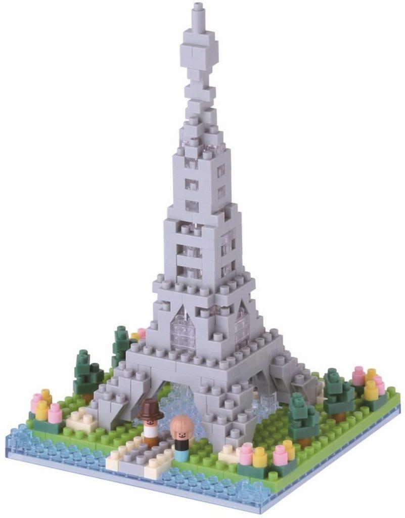 torre eiffel nanoblock
