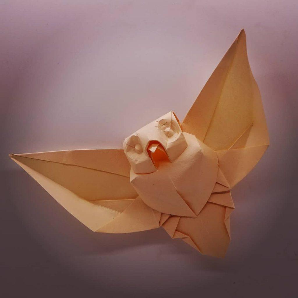 buho de origami