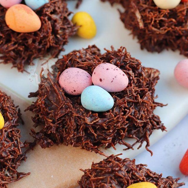 receta nidos de pascua