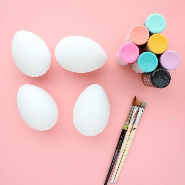 teñir huevos de pascua
