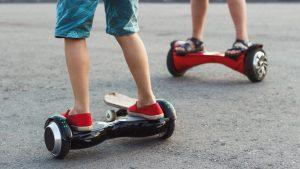 hoverboards como medio de transporte sostenible